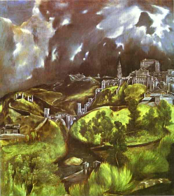 View Of Toledo 1604-1614 | El Greco | Oil Painting