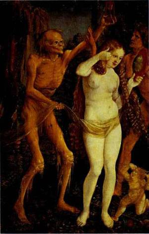 Death And The Maiden | Grien Hans Baldung | Oil Painting
