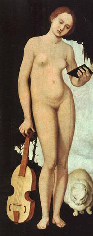 Music | Grien Hans Baldung | Oil Painting