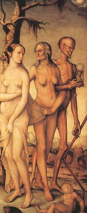 The Three Ages And Death | Grien Hans Baldung | Oil Painting