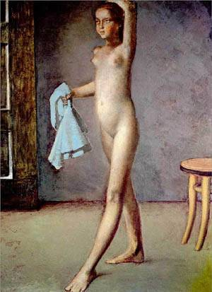famous paintings of nude women