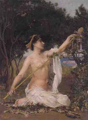 A Bacchante | Corbet Edith | Oil Painting