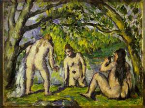 The Bathers | Paul Cezanne | Oil Painting