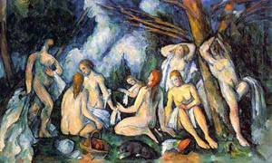 The Large Bathers | Paul Cezanne | Oil Painting