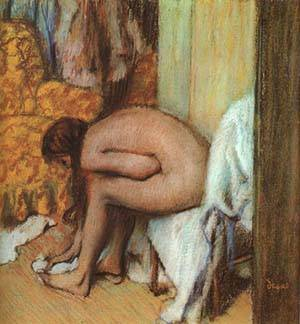 After The Bath3 | Edgar Degas | Oil Painting