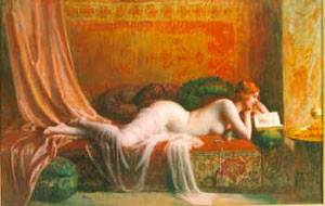 A Good Book | Delphin Enjolras | Oil Painting