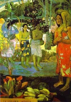 Ia Orana Maria Hail Mary | Paul Gauguin | Oil Painting