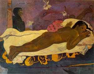 Manao Tupapau The Spirit Of The Dead Keep Watch | Paul Gauguin | Oil Painting