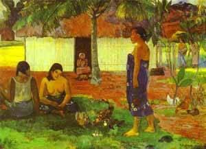 No Te Aha Oe Riri Why Are You Angry | Paul Gauguin | Oil Painting