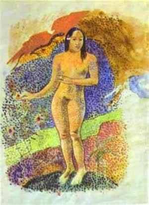 Tahitian Eve | Paul Gauguin | Oil Painting