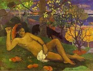 Te Arii Vahine The King's Wife | Paul Gauguin | Oil Painting