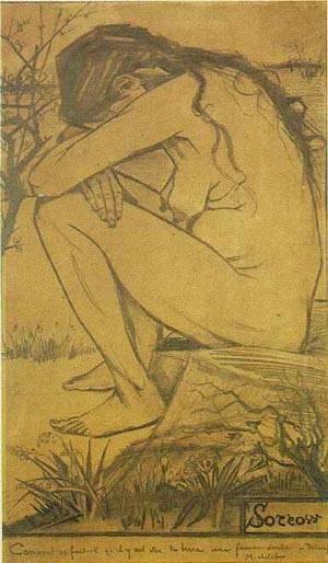 Sorrow | Vincent Van Gogh | Oil Painting