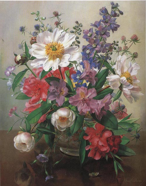 Floral Oil Paintings & Art Reproductions For Sale