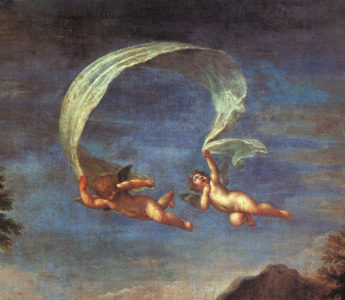 Adonis Led By Cupids To Venus Detail 1600 | Francesco Albani | Oil Painting