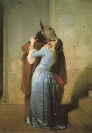The Kiss | Francesco Hayez | Oil Painting