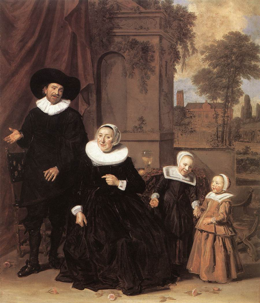 Family Portrait 1635 Painting
