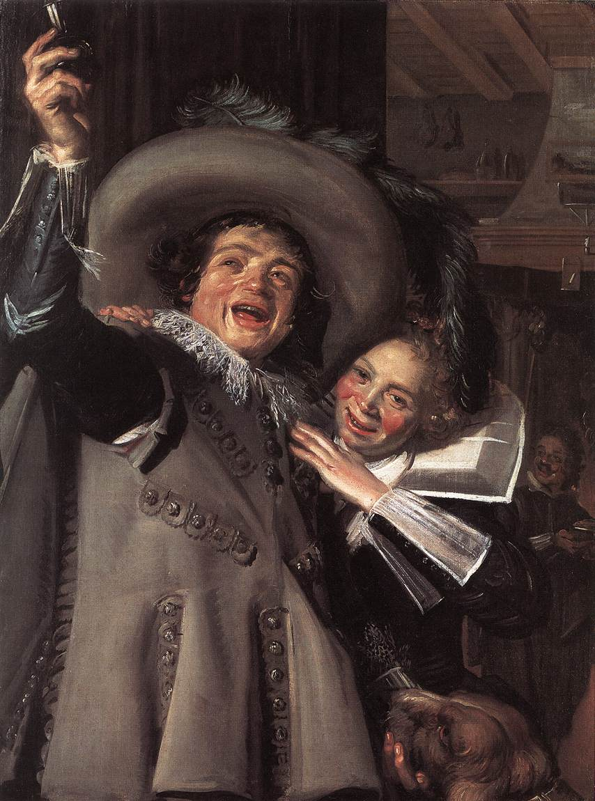 Jonker Ramp And His Sweetheart 1623 | Frans Hals | Oil Painting