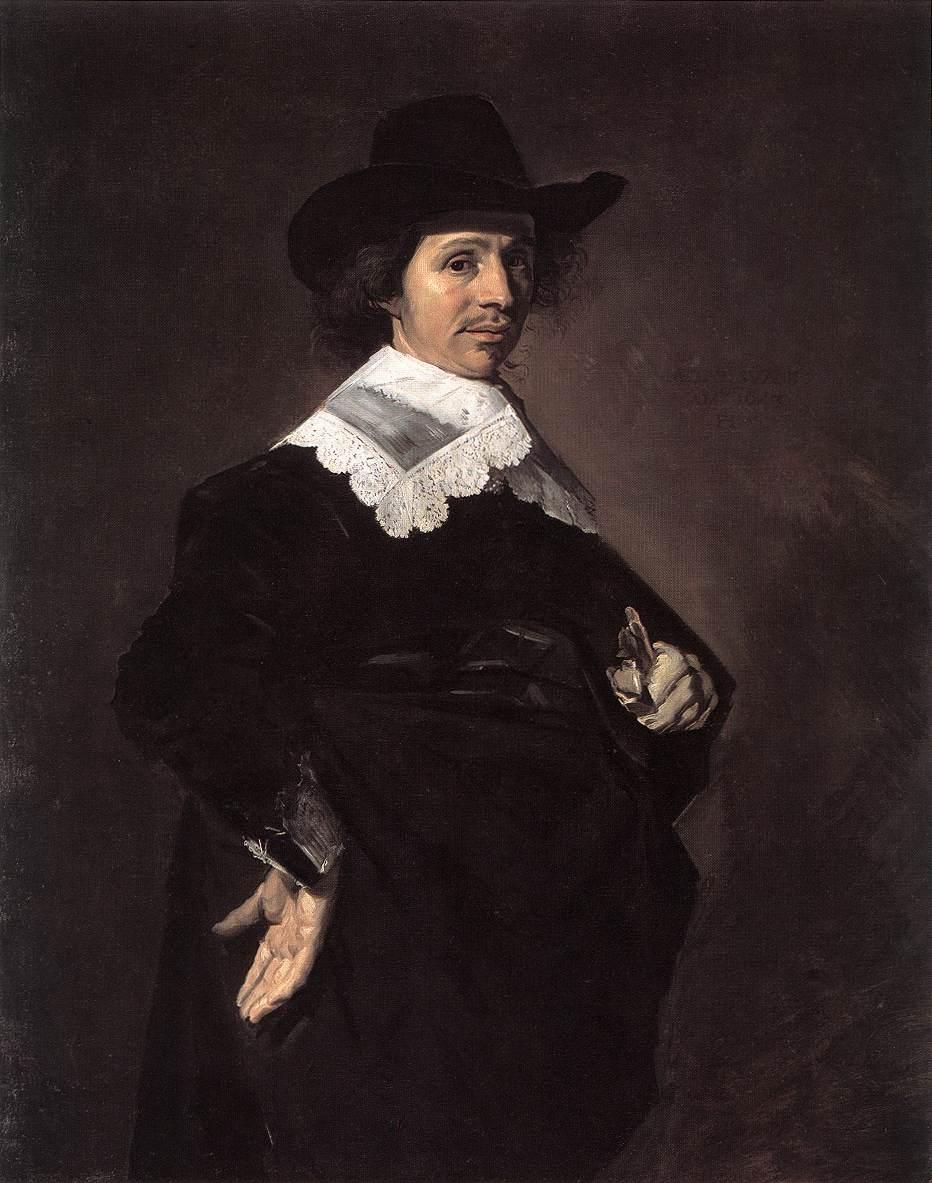 Paulus Verschuur 1643 | Frans Hals | Oil Painting