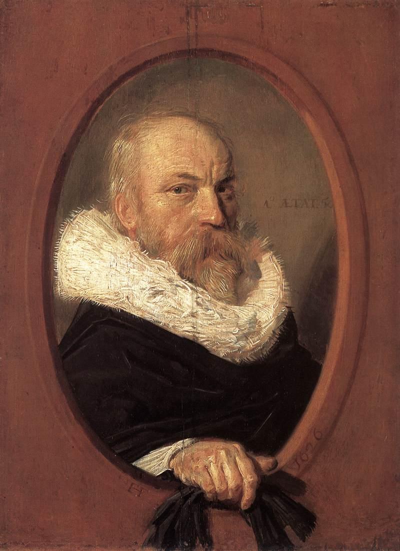 Petrus Scriverius 1626 | Frans Hals | Oil Painting