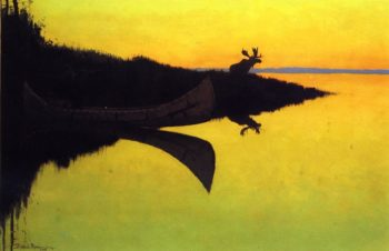 Coming to the Call 1905 | Frederic Remington | Oil Painting
