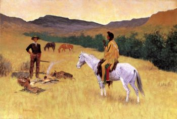 The Parley 1903 | Frederic Remington | Oil Painting