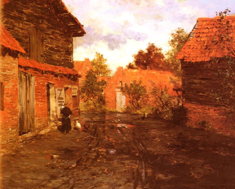 After The Rain | Frits Thaulow | Oil Painting