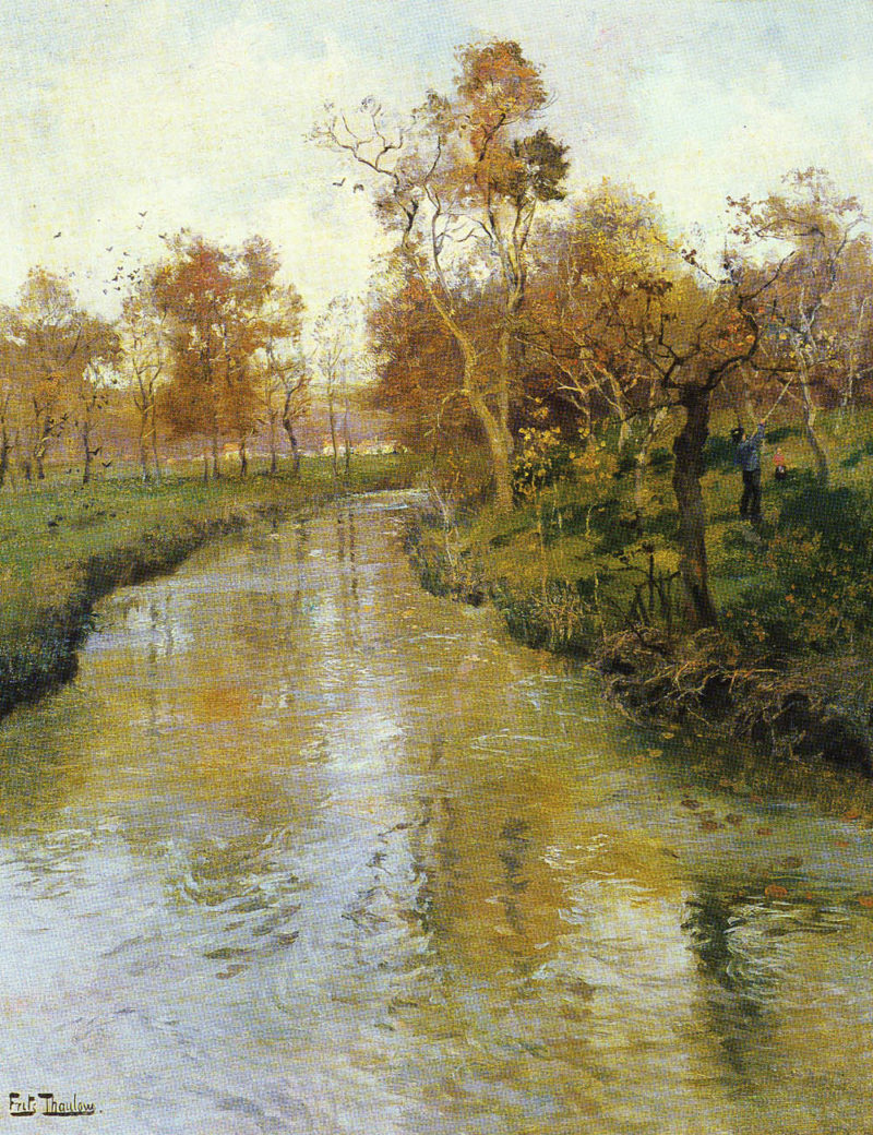 Autumn | Frits Thaulow | Oil Painting