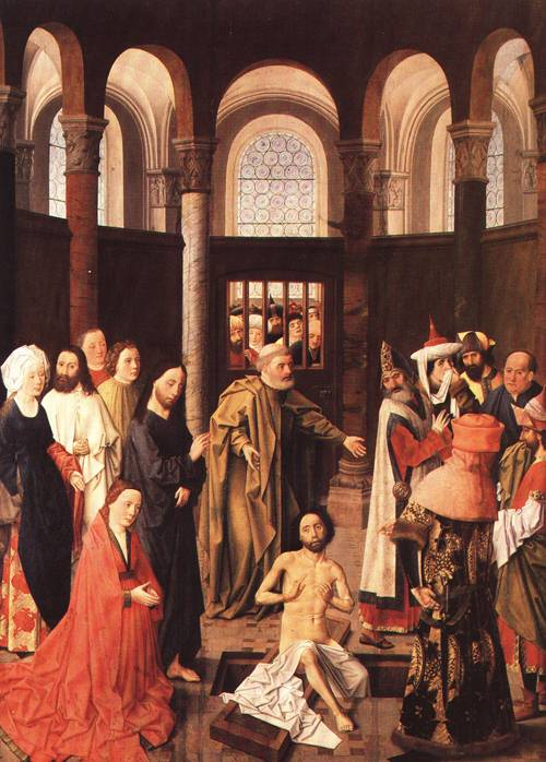The Raising of Lazarus 1450 60 | Aelbert van Ouwater | Oil Painting