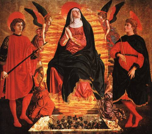 The Assumption of the Virgin 1449 50 | Andrea di Bartolo di Simone called Andrea del Castagno | Oil Painting