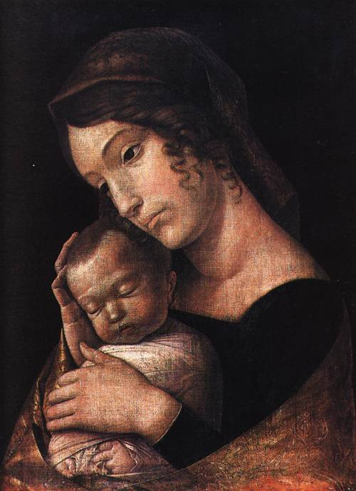 The Virgin and Sleeping Child 1466 7 | Andrea Mantegna | Oil Painting