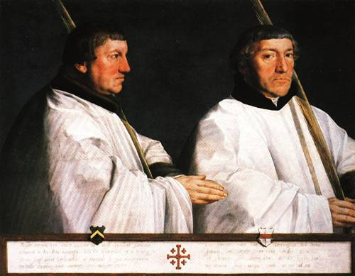 Portrait of Two Canons 1544 | Anthonis Mor | Oil Painting