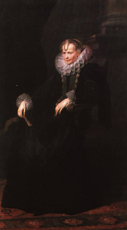 Portrait of a Genoese Nobelman and his Wife 1622 6 1 | Anthony van Dyck | Oil Painting