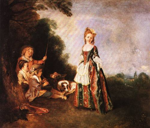 The Dance 1719 | Antoine Watteau | Oil Painting