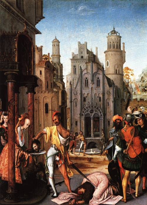 The Beheading of John the Baptist | Antwerp Master | Oil Painting