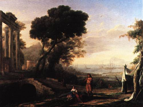Landscape on the Italian Coast in Morning Light 1642 | Claude Gellee called Claude Lorrain | Oil Painting