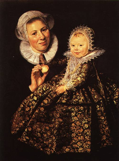 Catharina Hooft with her Nurse 1619 20 | Frans Hals | Oil Painting