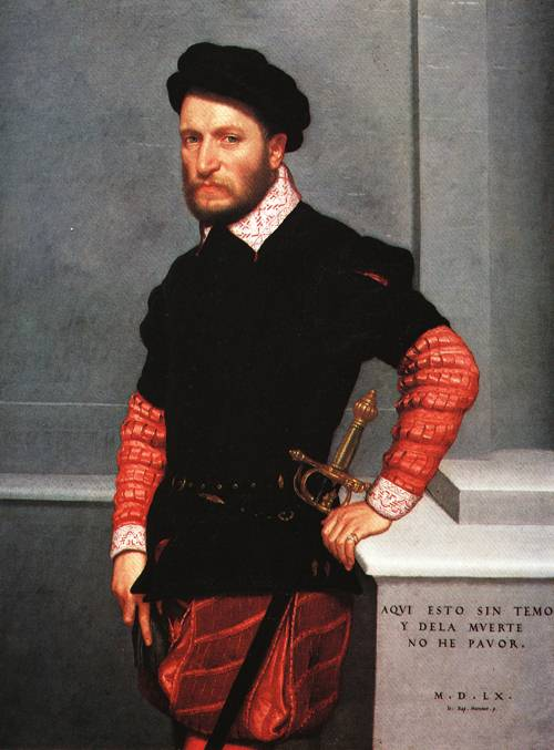 Don Gabriel la Cueva Duke of Alburquerque 1560 | Giovanni Battista Moroni | Oil Painting