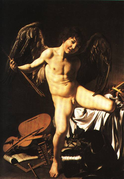 Amor Victorious 1602 3 | Michelangelo Merisi called Il Caravaggio | Oil Painting