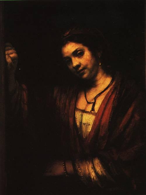 Portrait of Hendrickje Stoffels 1659 | Rembrandt | Oil Painting