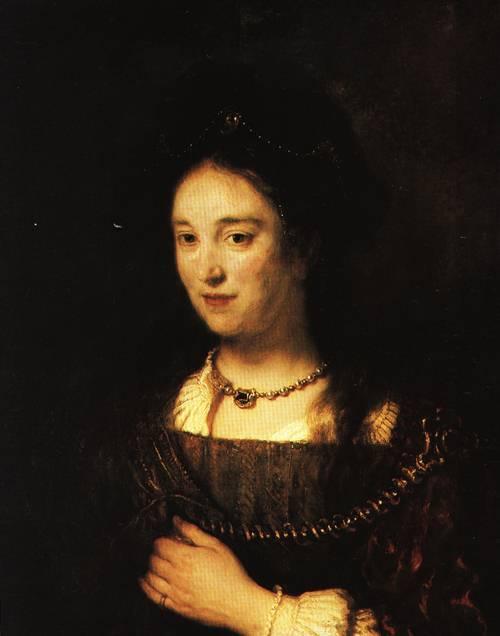 Saskia 1634 | Rembrandt | Oil Painting