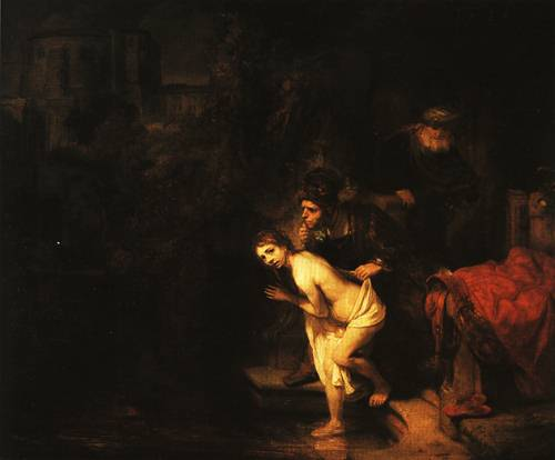 Susanna and the Two Elders 1647 | Rembrandt | Oil Painting
