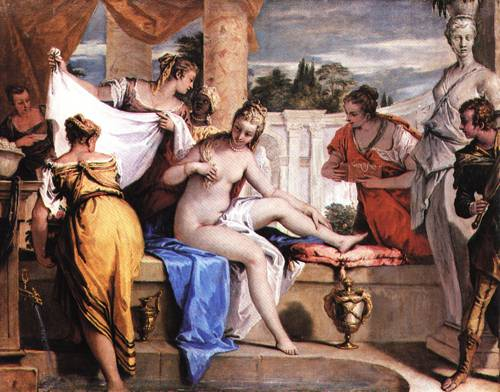 Bathsheba in her Bath 1725 | Sebastiano Ricci | Oil Painting