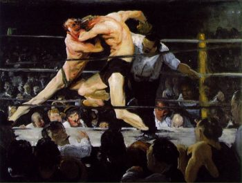 Stag At Sharkeys 1909 | George Bellows | Oil Painting