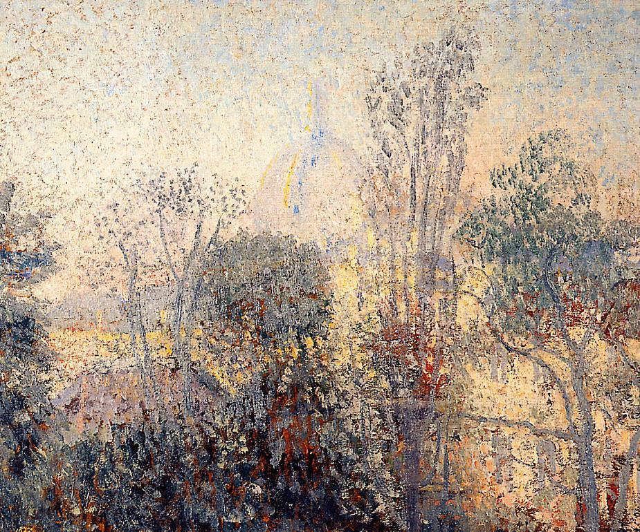 Saint Marie Church 1908 | Georges Lemmen | Oil Painting