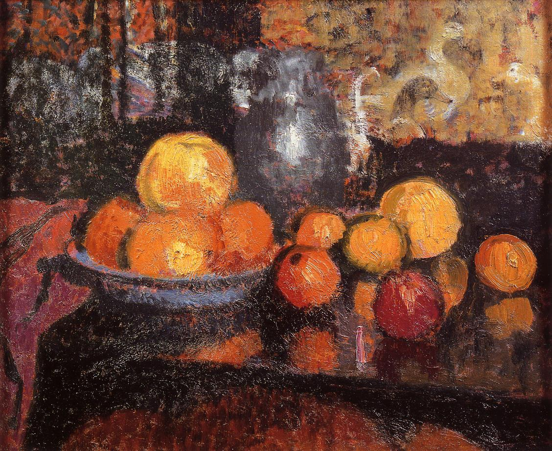 Still Life with Fruit | Georges Lemmen | Oil Painting