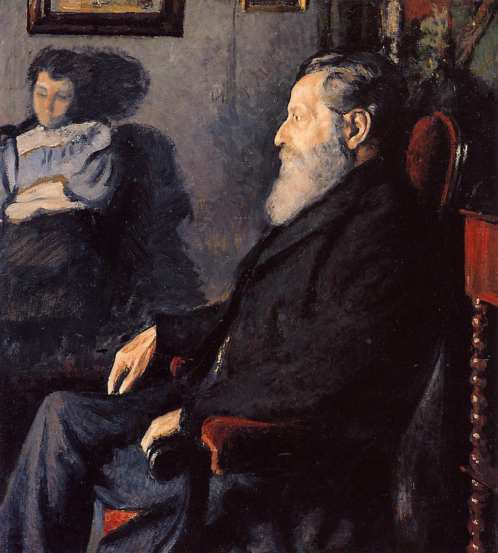 The Artist's Father 1887   Georges Lemmen   Oil Painting