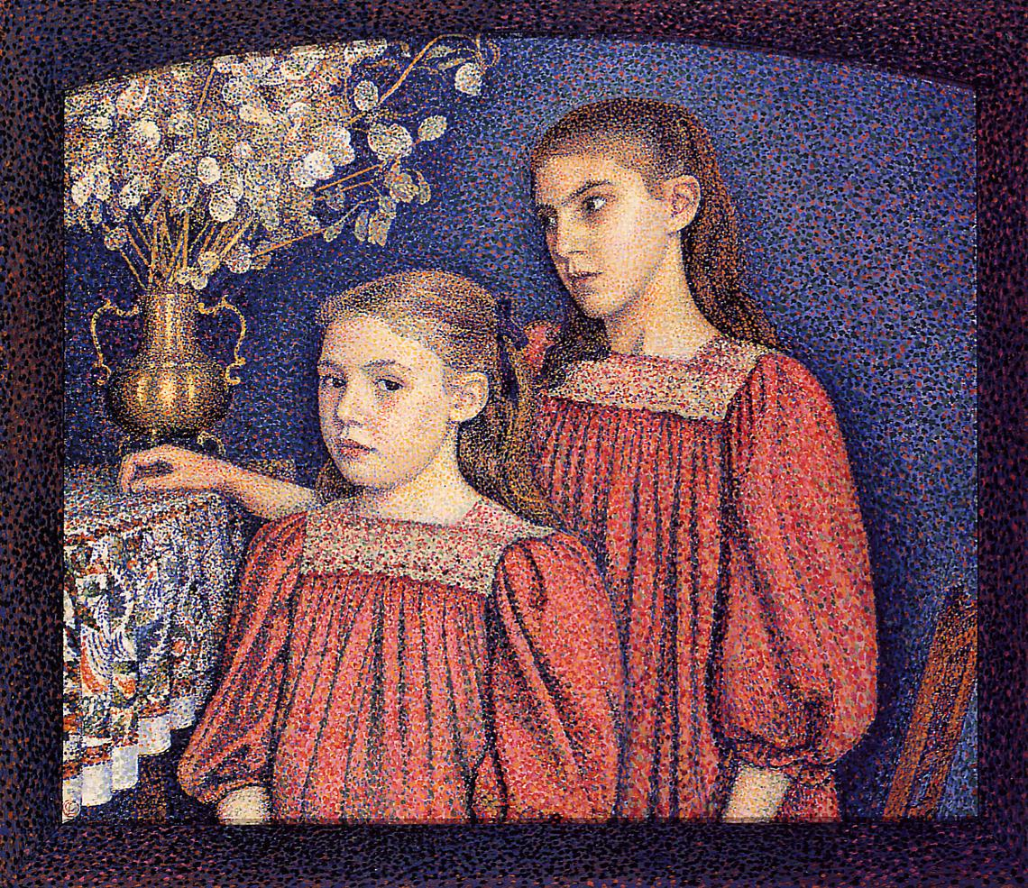 The Serrys Sisters 1894 | Georges Lemmen | Oil Painting
