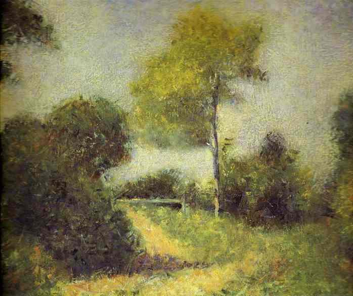 Landscape 1882 | Georges Seurat | Oil Painting