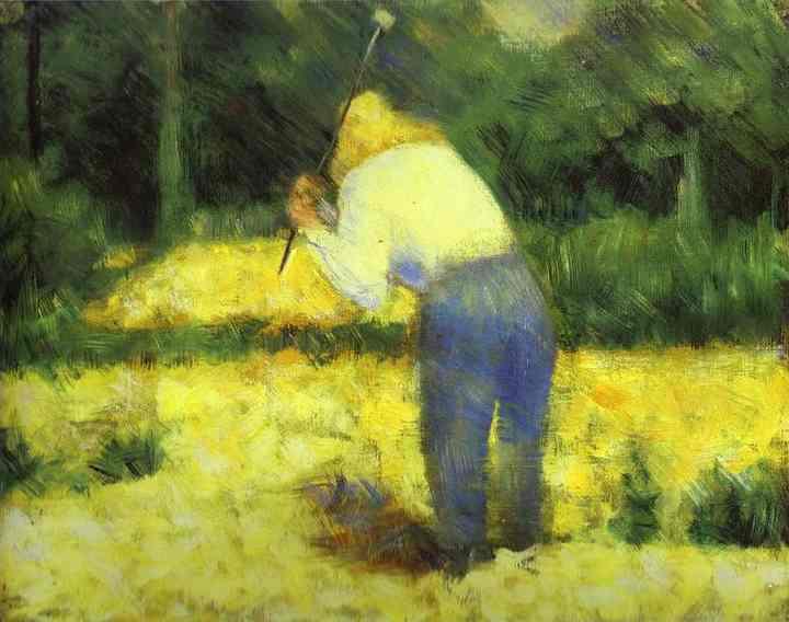 Le Tacheron 1882 | Georges Seurat | Oil Painting