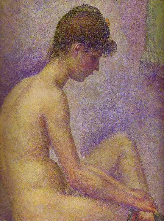 Models Detail 1886-88 | Georges Seurat | Oil Painting